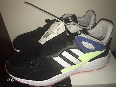 NEW ADIDAS CRAZYCHAOS sz 11.5 M Men's Black/White Retro RUNNING athletic shoes