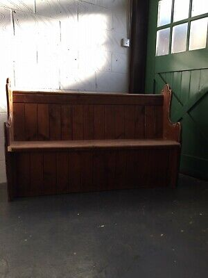 Antique Church Pew reclaimed from Northamptonshire chapel