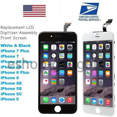 OEM LCD Digitizer Screen Touch Replacement Assembly Button for iPhone 8 7 6 Plus