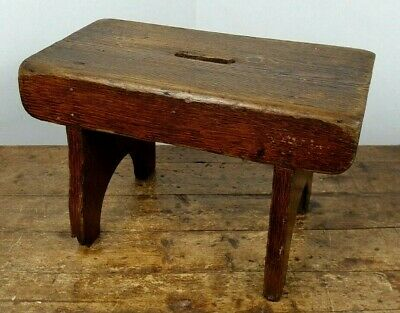 Stool Milking Creepie Orkney Seat Made In Scotland Victorian