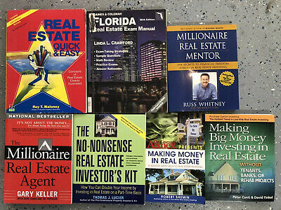 Lot of 7 Real Estate Investing Books