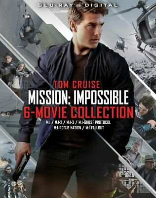 Mission: Impossible - 6 Movie Collection (Blu-ray + Digital)