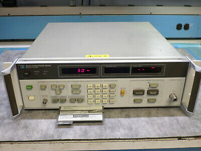 HP 8970A Noise Figure Meter With Pull Out Instructions - No Errors