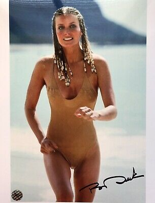 Bo Derek Sex Symbol Hand Signed Autograph Photo iconic image from movie 10 & COA