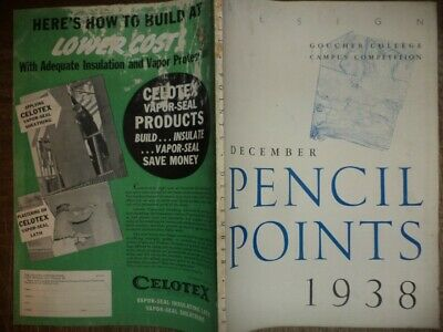 7 1938 Pencil Points Drafting Architecture Architectural Drawings Design History