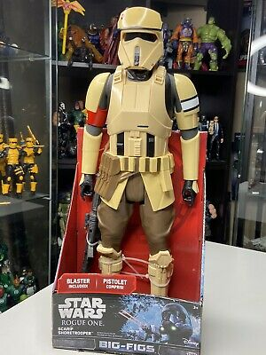 """BRAND NEW Star Wars Big Figs 18/"""" Scarif Shoretrooper Action Figure ROUGE ONE"""
