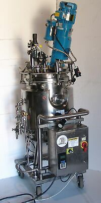 150 liter pressure reactor mixing kettle , jacket , agitator drive 316SS