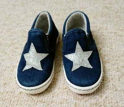 Girls Next infant size 6(but more like 5) star shoes trainers