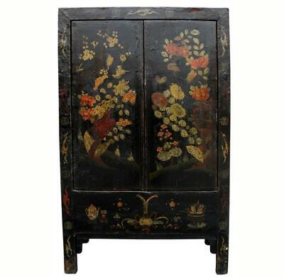 Antique Chinese Chinoiserie-Style Cabinet 3