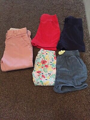 Zara Pink Girls Trousers Age 18-24 Months + Girls Mixed Clothing 18-24 Months