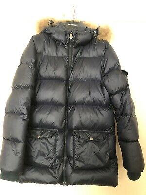 boys pyrenex padded jacket. Navy Blue, aged 14 yrs. Very good condition.