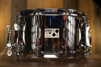 Sonor 14 X 8 D508X Phonic Ferromanganese Steel Snare Drum (Pre-Loved)