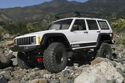 Axial 2000 Jeep Cherokee Body .040 Clear Body Only Z-AX31337