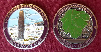 The 2015 Limited Edition Dartmoor Geocoin - Limited Stock Remaining