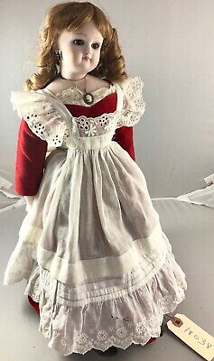 """17"""" Antique French Bisque Shoulder Head French Fashion Doll! Beautiful! 18038"""