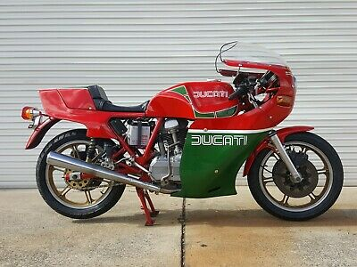 Ducati 900 Mike Hailwood Replica 1981
