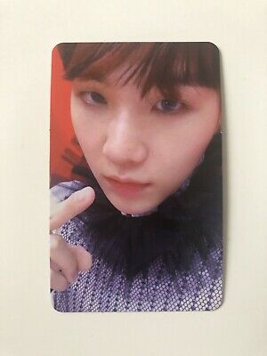 SUGA Official Photocard BTS Love Yourself ANSWER S Version