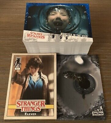 Topps Stranger Things Welcome To The Upside Down Complete Mini Master Set