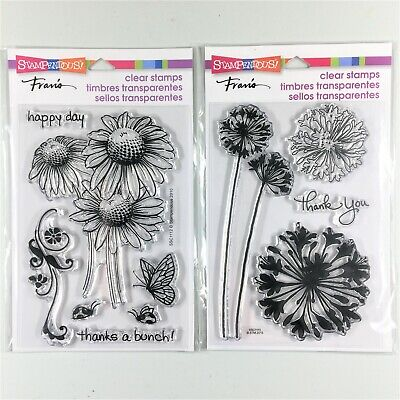 Stampendous Agapanthus Thanks Clear Stamp Set SSC1111