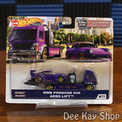 RWB Porsche 930 Aero Lift - Team Transport #17 - Hot Wheels Premium (2020)