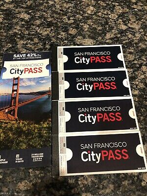 4 San Francisco City Passes, a $ 400 Value For Only $200 Expires Feb 28, 2021