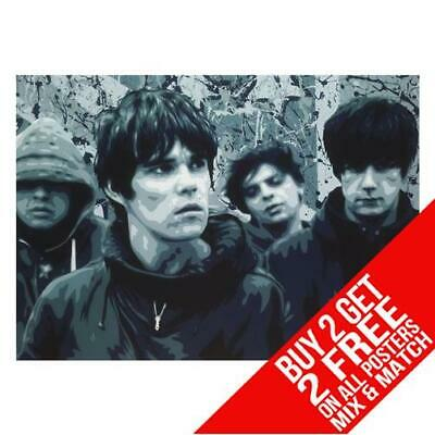 Stone Roses Bb8 Poster Art Print A4 A3 Size Buy 2 Get Any 2 Free