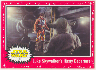 Star Wars JOURNEY TO THE RISE OF SKYWALKER RED STARFIELD CARD # 23 TARGET 2019