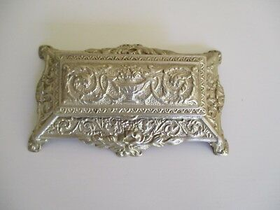 Small Vintage Antique Collectable French Provincial Type Ornate Brass Desk Stand