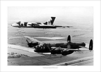 Lancaster Bomber 35 Squadron 1946 Historic Aviation Photo Memorabilia 712