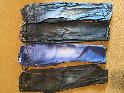 Boys 100% Next Jeans 3-4 Skinny Straight Good Condition Winter Warm Fashion