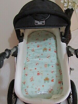 Pram bassinet liner-Bunny family-Fits all pram bassinets