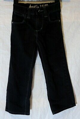 Boys Next Black Denim Adjustable Waist Classic Straight Leg Jeans Age 5 Years