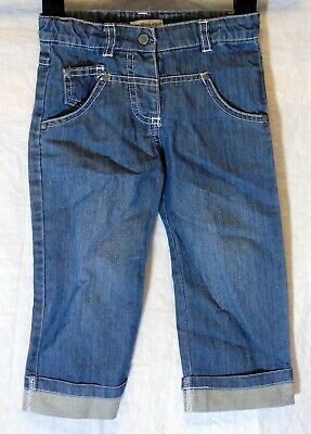 Baby Boys Vertbaudet Blue Denim Adjustable Waist Relaxed Jeans Age 18-24 Months