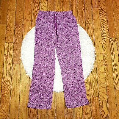Victoria's Secret Women's Purple Paisley Pajama Pants Size Small S