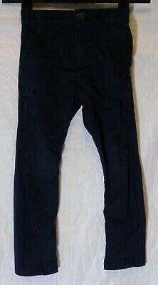 Boys Next Dusky Black Chino Denim Adjustable Waist Regular Fit Jeans Age 5 Years