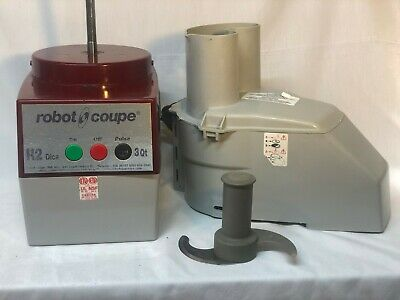 Robot Coupe R2 Dice Combination Food Processor w/ 3 Qt. Bowl and Attachments