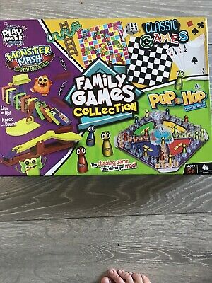 New - Play master - Family Boards Games Collection