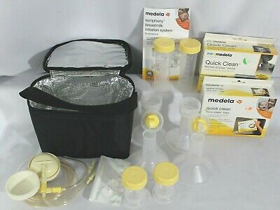 Madela Breast Feeding Initiation Kit Plus 5 Micro-Steam Bags & Insulated Bag