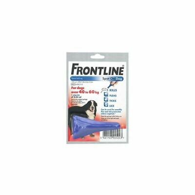 Frontline Spot On Flea, Tick & Lice Treatment (AVM-GSL) For XL Dogs & Cats Pet