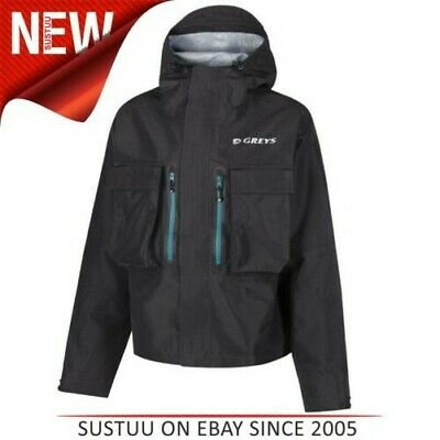 Greys Hombre Clima Frío Impermeable Inflable Chaqueta │ Climatex Material │ │ M/