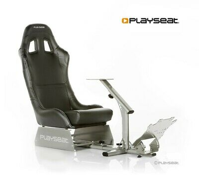 Playseat Evolution Black Gaming Seat Chair For Steering Wheel and Pedals