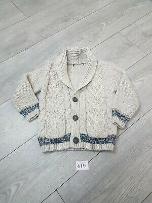 Boys Cardigan Aged 3-4 Years From George
