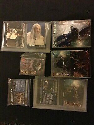 Lotr Trading Cards the return of the king