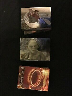 Lotr Trading Cards Trilogy