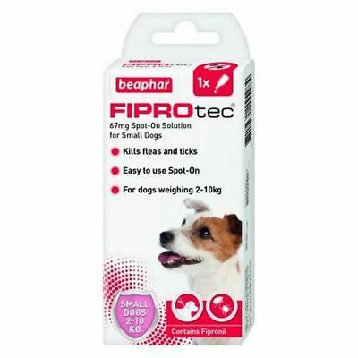 Beapher FIPROtec Spot On Flea Tick Treatment Solution For Small Dog - 1 Dose