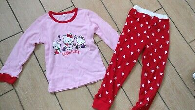 Girls Pyjamas Hello Kitty Age 5-6