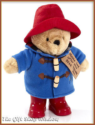 New Paddington Bear Plush Soft Toy With Red Boots Superb Quality Uk Stock Quick