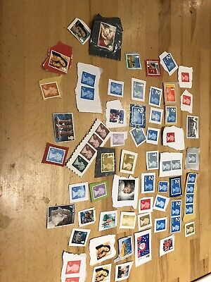 GB Royal Mail Unfranked Stamps on paper, face value Approx £100