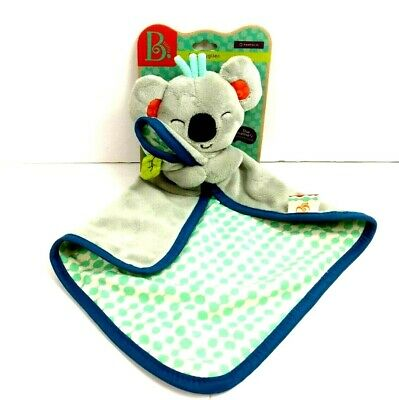 Koala Bear Baby B Security Blanket Plush Bear Sleepy Time Cuddle New Plush