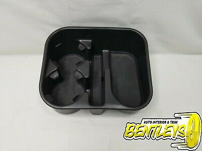 Sierra Avalanche Replaces Part# 19154712 Escalade Suburban 7BLACKSMITHS Floor Mounted Console Dual Cup Holder Drink Replacement Insert for 07-14 Silverado Yukon